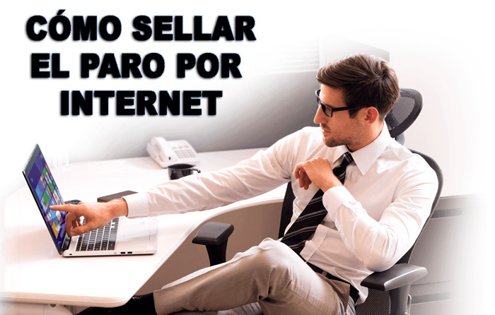 sellar el paro por internet