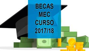 becas mec 2017 2018