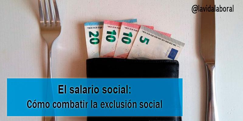 el salario social
