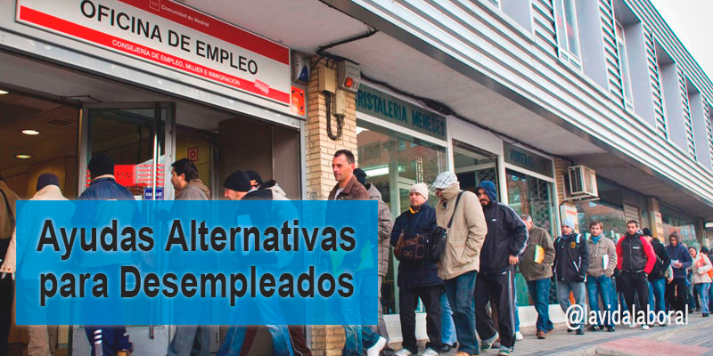 ayudas alternativas desempleo