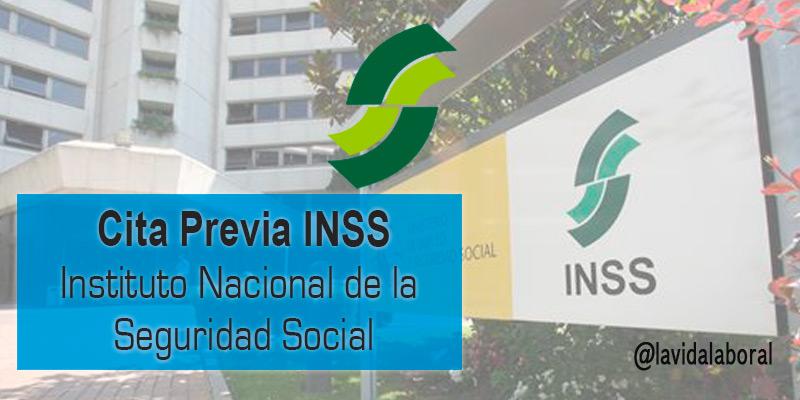 cita previa inss instituto nacional seguridad social
