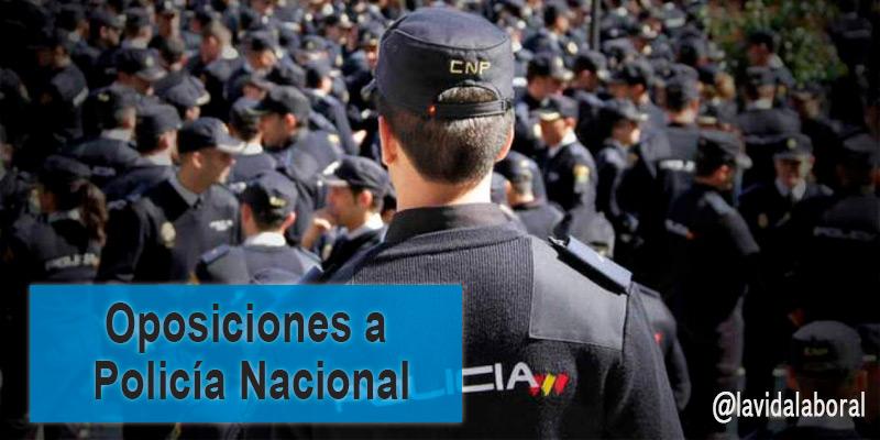 oposiciones policia nacional 2017