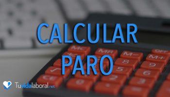 cómo calcular el paro calculadora paro