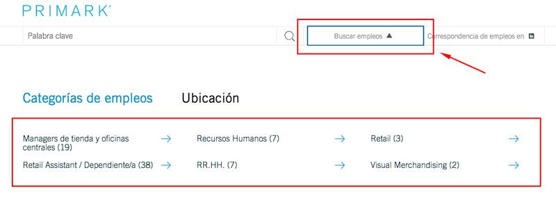 trabajar en primark registro empleos